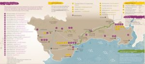 Food the Waterford Way - Map
